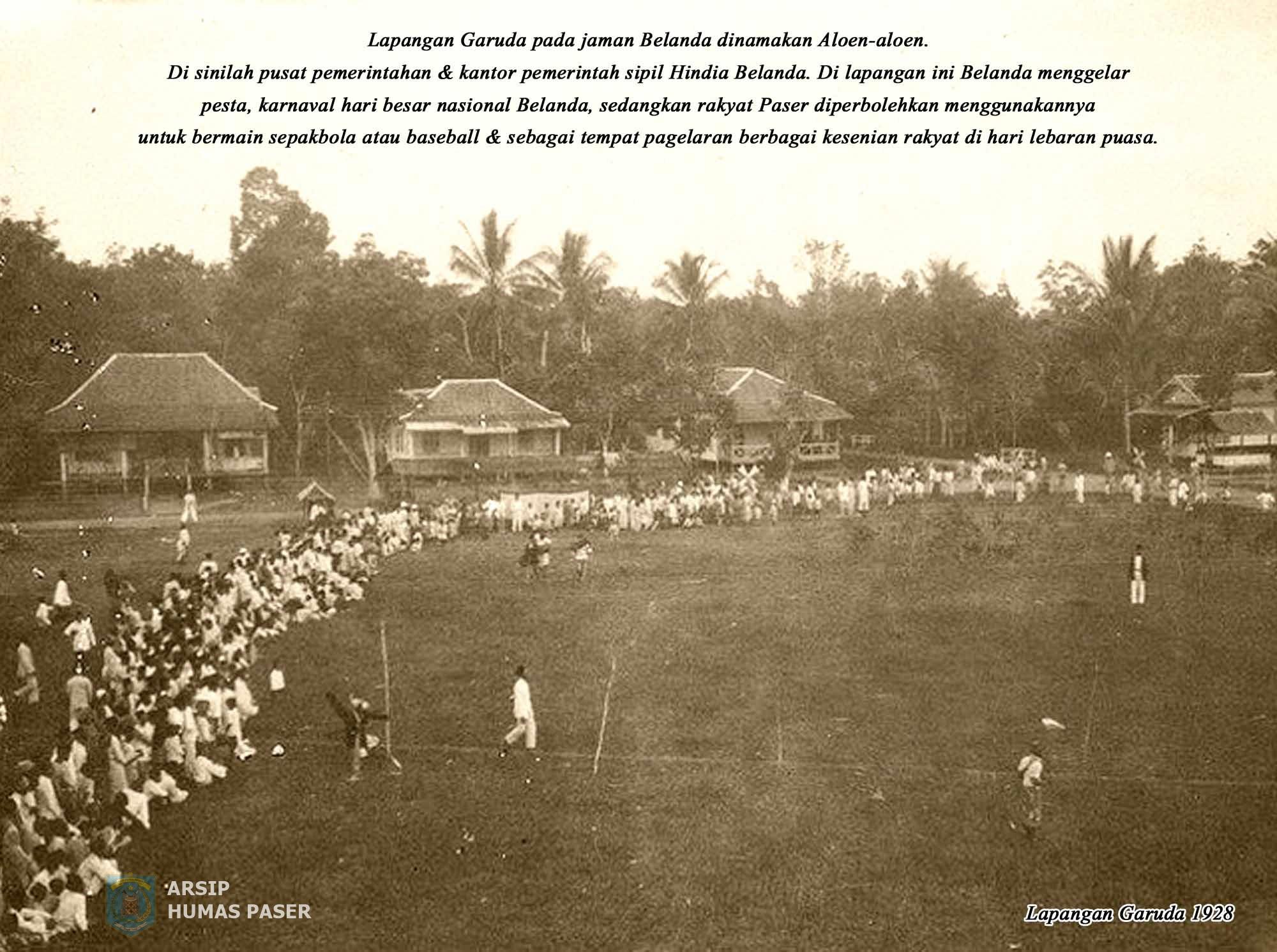 Lapangan Garuda Tahun 1928