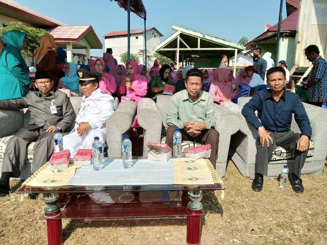 Upacara HUT 73 RI Kecamatan Tanjung Harapan