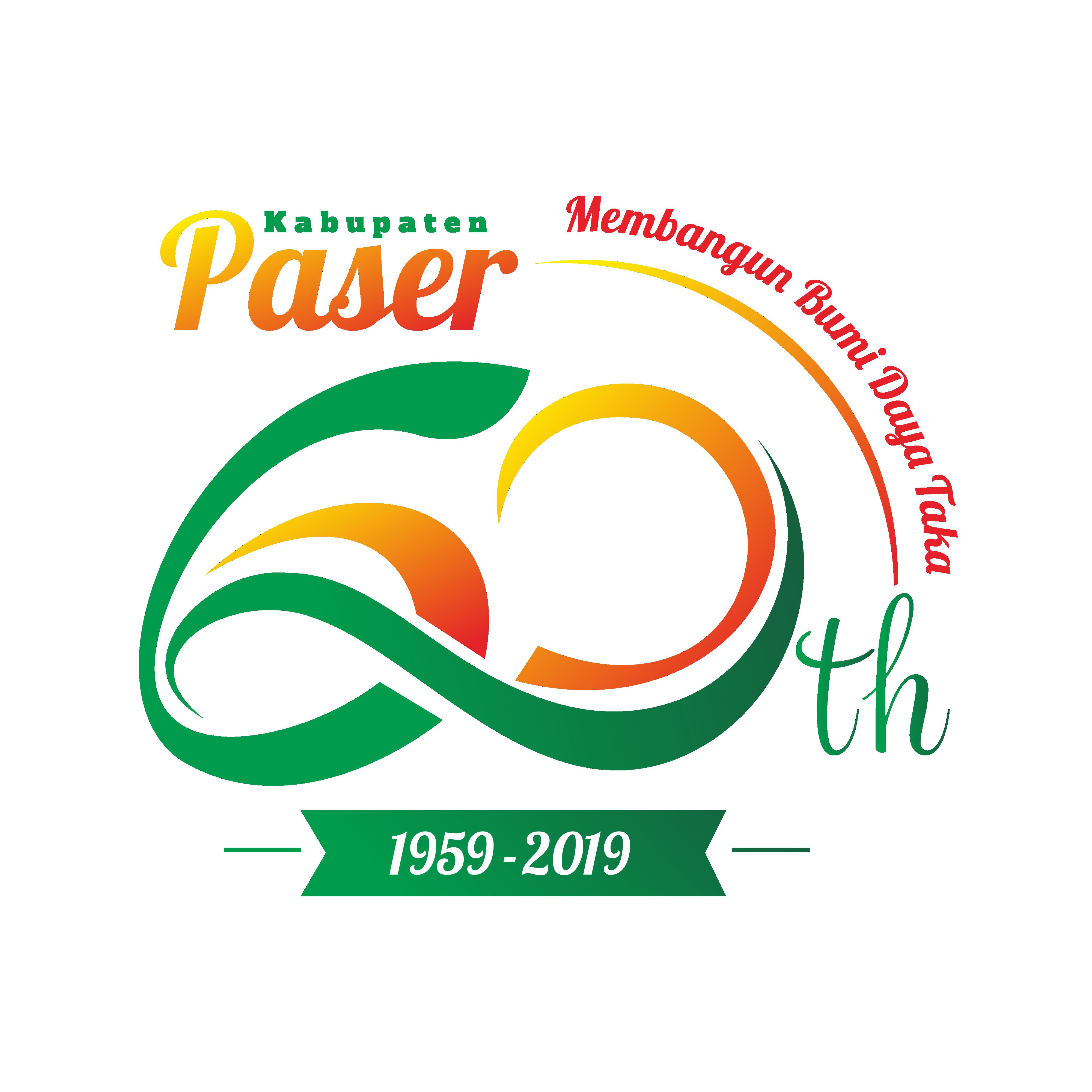 Download Tema Dan Logo Resmi Hari Jadi Ke 60 Kabupaten Paser Tahun 2019