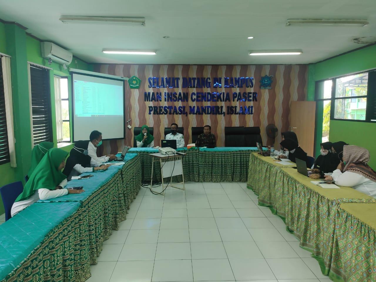 Tingkatkan Sinergisitas, Kamad Gelar Rapat dengan Tim Humas MAN IC Paser