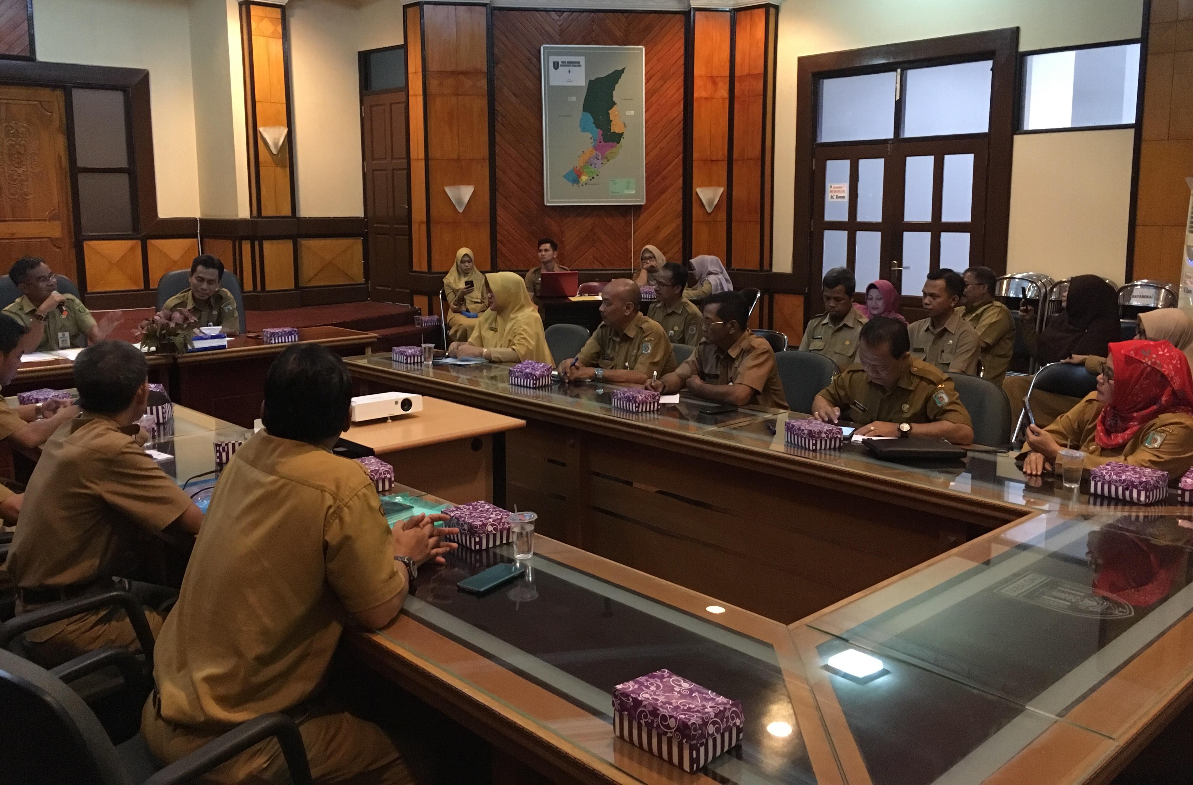 Evaluasi kerjasama, Pemkab Paser laksanakan rakor dengan Pemkab Tabalong Kalsel