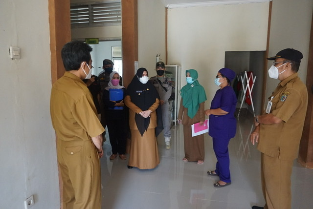 Kunjungi 4 Puskesmas, Wabup Masitah Minta Pelayanan Kesehatan Ditingkatkan