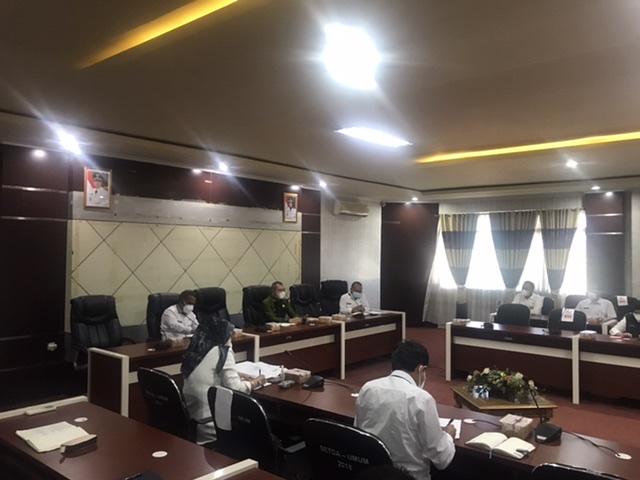 Bupati Fahmi Kembali Kumpulkan Jajarannya Terkait Penanganan Kasus Covid