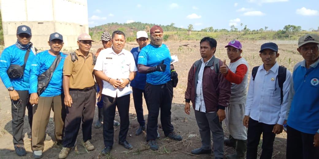 PBD Paser, PPU & Provinsi Lakukan Survey Lapangan Batas Daerah