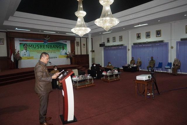 Buka Musrebang RPJMD, Bupati Fahmi Jelaskan Visi & Misi Paser MAS