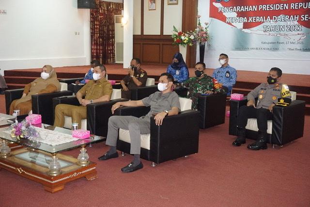 Arahan Presiden Kepada  Bupati, Wabup, Ketua DPRD & Unsur Forkopimda, Sekda serta Asisten