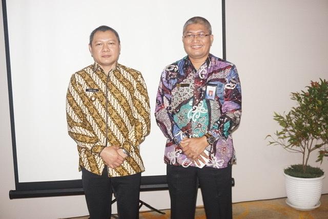 Bupati Fahmi Silaturrahmi Dengan  BPKP