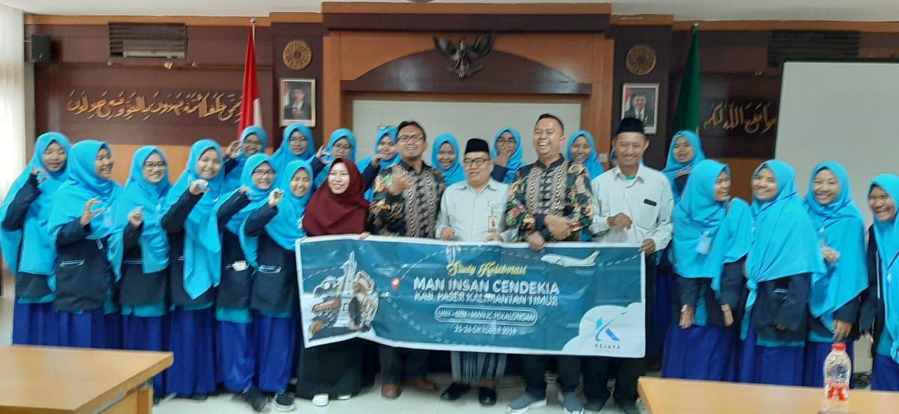 MAN IC Paser Kunjungi UIN Suka Yogyakarta