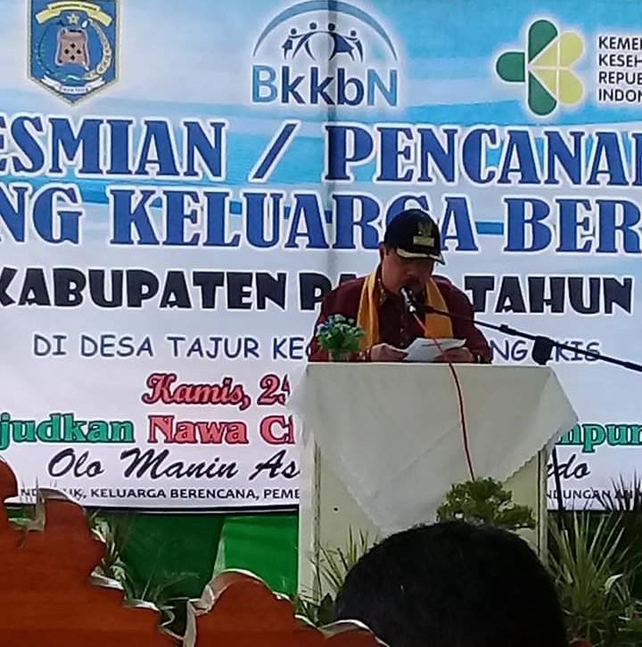 Bupati Canangkan Kampung KB di Desa Tajur