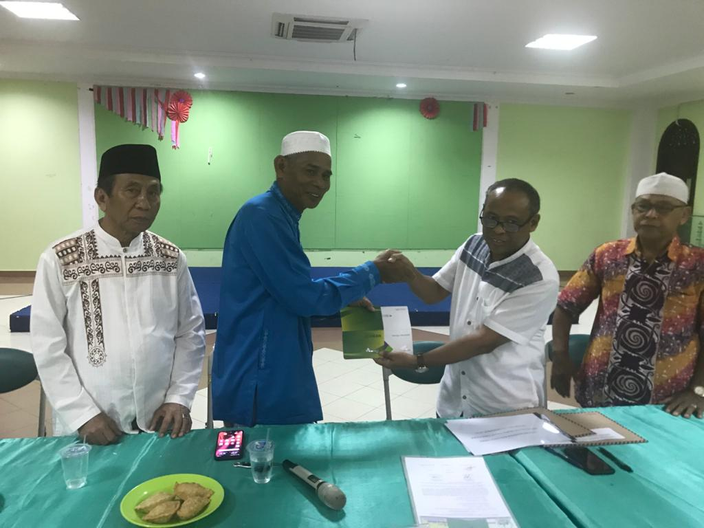 Sertijab Pengurus Masjid Agung Nurul Falah
