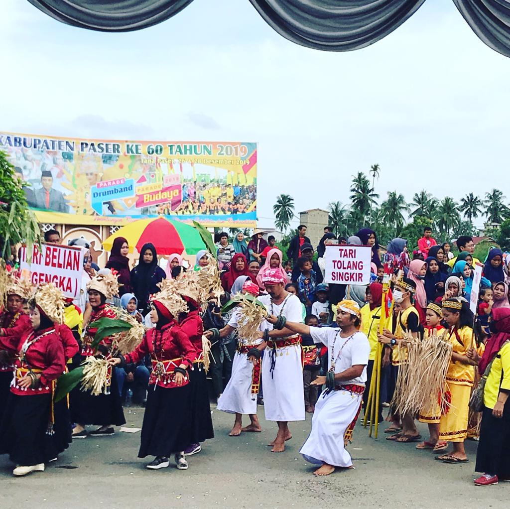Parade Budaya Agenda Rutin Meriahkan Hari Jadi