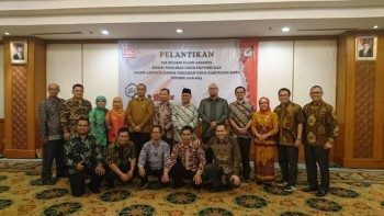 KPU Lantik Tim Seleksi Calon Anggota KPU