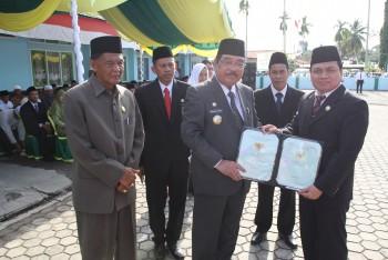 Bupati Pimpin Upacara HAB ke-73 Kementerian Agama Paser