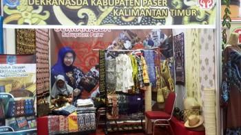 Dekranasda Paser Partisipasi di Banjarmasin Expo 2020