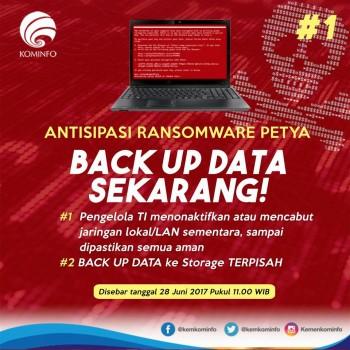 Inilah Langkah Hindari Serangan Virus Ransomware Petya
