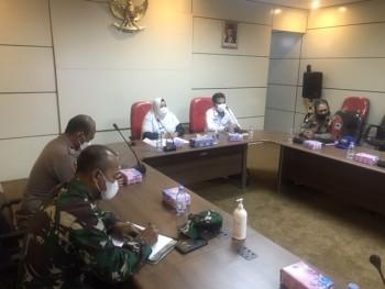 Wabup Virtual Dengan Kepala BNPB RI & Gubernur