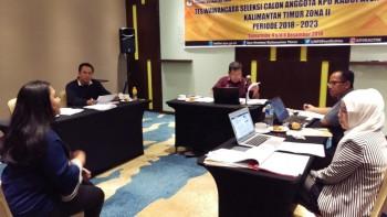 Calon Komisioner KPU Paser akan Ikuti Tes Wawancara