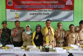 Bupati Canangkan Desa Sangkuriman Jadi Kampung KB