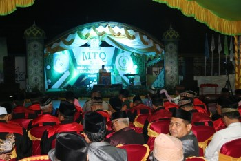 Sekda Ingatkan MTQ Kuaro Menjadi Motivasi MTQ  2020 di Bontang.
