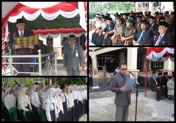 Upacara Hut Provinsi ke-61 Kaltim Berlangsung Khidmat  Dipimpin Wabup HM Mardikansyah