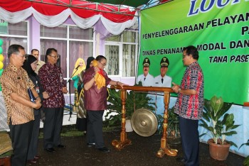 Wabup Mardikansyah Resmikan Launching PTSP