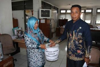 Bantuan Gempa Lombok Dapat Sambutan Luar Biasa