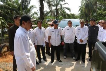 Bupati & Wabup Tinjau Peningkatan Jalan Desa Suliliran Baru (SP1) Rp13,6 Miliar