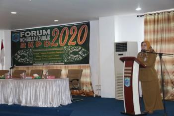 """""""Masih Cukup Tingginya Angka Kemiskinan Menjadi Issue Forum Konsultasi Publik RKPD 2020"""""""