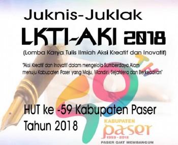 Juknis Juklak LKTI-AKI 2018