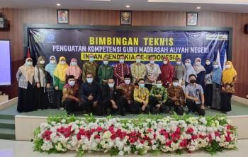 MAN IC Paser Ikuti Bimtek Penguatan Guru MAN IC se-Indonesia