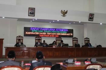 Pansus DPRD Berikan Catatan LKPj Bupati Paser 2016