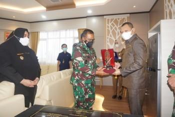 Bupati & Wabup Sambut Kunjungan Kerja Pangdam VI Mulawarman