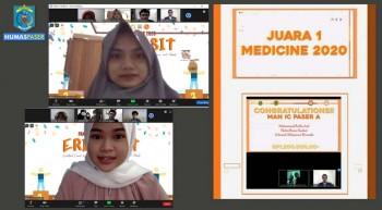 Siswa MAN IC Paser Juara 1 Medecine 2020 Se Kalimantan