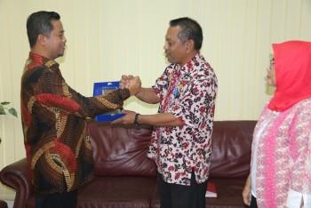 Sekda Terima Kunjungan Wakil Ketua DPRD Kukar