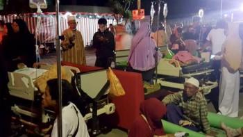 Bantuan Korban Gempa dari Setda  Paser di Serahkan