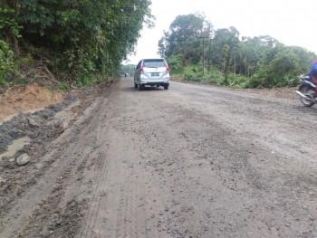 Kondisi Jalan di Paser 36,18 % Masih Rusak