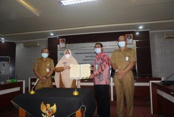 Lindungi PTT, Wabup Masitah & BPJS Ketenagakerjaan Lakukan PKS