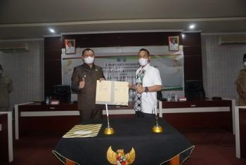 Bupati dan Ketua PN Lakukan PKS Layanan Prima