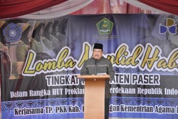Lomba Maulid Habsy se-Kabupaten Paser, Bupati Sumbang 5 juta