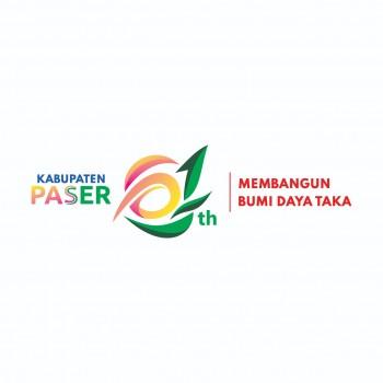 TEMA DAN LOGO RESMI HARI JADI KE-61 KABUPATEN PASER TAHUN 2020
