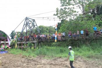 Pembangunan Jembatan Mendik Menjawab Tantangan Anggaran