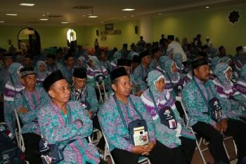 Jemaah Haji Paser Kloter  4 Tiba Di Madinah