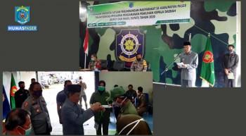 Wabup Buka Pelatihan Satlinmas Penanganan Pemilu Kada