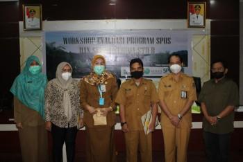 Asisten Ebang Buka Workshop SPOS & Serahkan STD-B