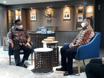 Bupati Fahmi Sodorkan Berbagai Usulan & Program ke Wakil Ketua DPR RI Rachmat Gobel