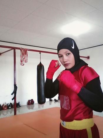 Mantan Atlet Wushu Asal Paser Jadi Wasit/Juri Nasional Hadijah Turut Warnai Asean Games 2018