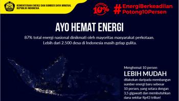 Gerakan Hemat Energi Potong 10%