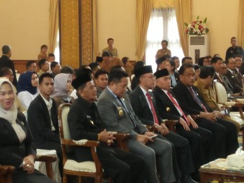 Wabup Hadiri Pembukaan Orientasi  Anggota DPRD Kabupaten/Kota