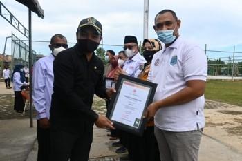 HUT PMI ke-76 Ditandai Pemberian Penghargaan Relawan