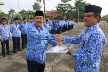 DPMPTSP Rahi Penghargaan Zona Hijau Pelayanan